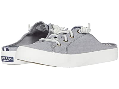 Sperry Crest Vibe Mule Chambray (Grey) Women