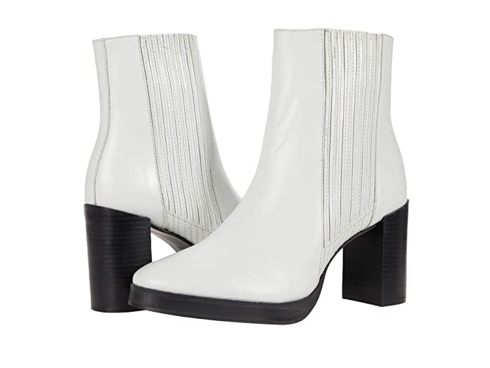 70s Shoes, Platforms, Boots, Heels | 1970s Shoes Matisse Ava White Womens Boots $160.00 AT vintagedancer.com
