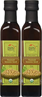 Organic Toasted Sesame Oil, Kosher, Wholesome and Tasty, Organic, 8.45 Fl Ounces (Pack of 2, Total of 16.9 Fl Ounces)