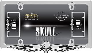 Best skull license plate frame Reviews