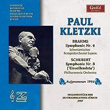 Paul Kletzki Conducts Brahms Schubert