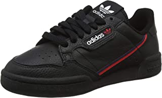 Adidas Originals Continental 80 Shoes 6.5 B(M) US Women / 5.5 D(M) US Core Black Scarlet Collegiate Navy