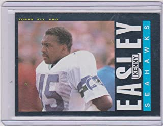 1985 Topps Kenny Easley Seahawks All Pro Football Card #384