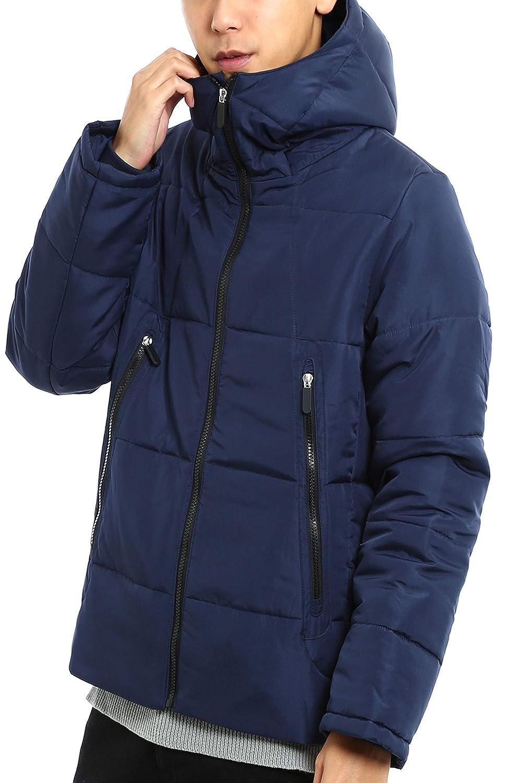 インプローブス フードジャケット アウター ボリュームネック 軽量 防寒 黒 白 青 緑 ジャンパー