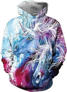 EUDOLAH vêtement de Fille Sweat à Capuche Manches Longues 3D imprimé célébrer Noël