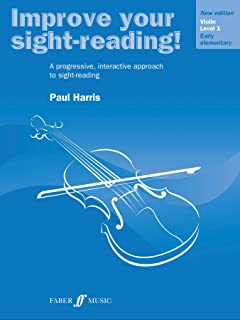Improve Your Sight-Reading! Violin Level 1 US VERSION (New Ed.)