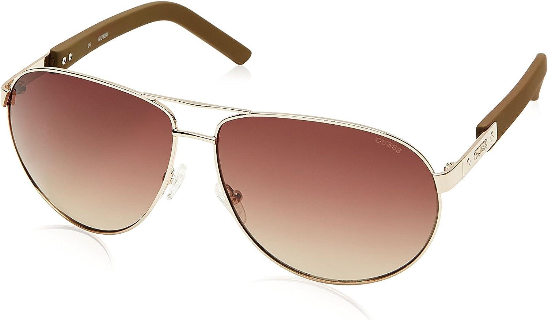 GUESS Men's Designer Sunglasses Rectangular