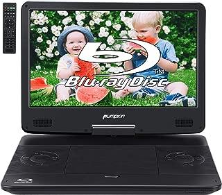 PUMPKIN 14インチ ポータブルブルーレイプレーヤー 大画面 bd dvdプレーヤー ポータブル HDMI 入/出力 CPRM AUX AV-OUT USB SD MMC 18ヶ月保障