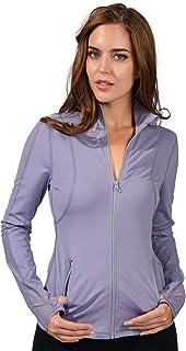 90 Degree by Reflex Womens Full Zip Mesh Detail Running Track Jacket