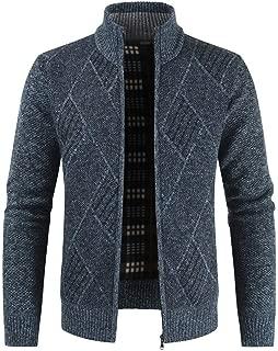 Beautyfine Winter Warm Men's Casual Cardigan Sweater Jacket Coat