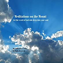 meditations on the mount
