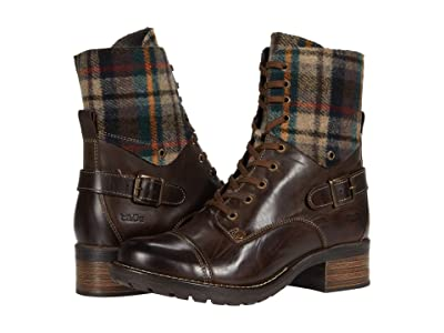 Taos Footwear Crave (Chocolate/Plaid) Women
