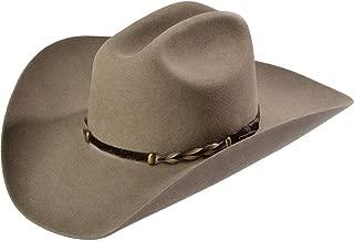 Men's Stone Portage 4X Buffalo Felt Cowboy Hat - Prtg-724220 Stone