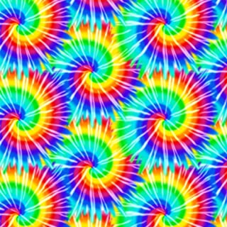 GRAPHICS & MORE Tie Dye Pattern Premium Roll Gift Wrap Wrapping Paper