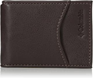 Columbia  Men's  RFID Security Blocking Slim Front Pocket Wallet,Merino Brown