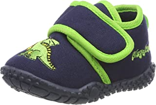 Playshoes Chaussons Dragon, Pantoufles Garçon