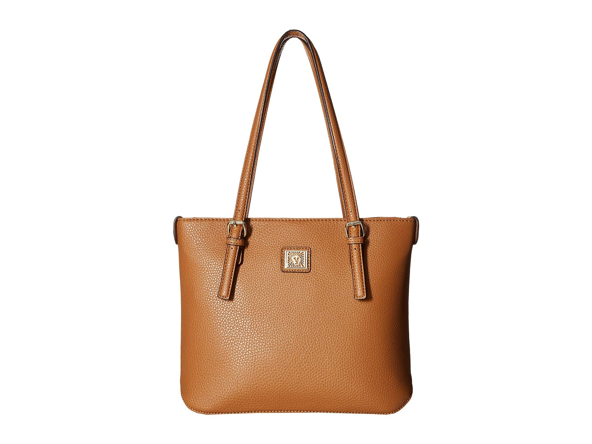 Small Klein Cognac Shopper Tote Anne Perfect q8wvSqF