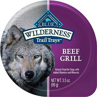 جام بوفالو بیابانی بیابانی سینی غلات حاوی پروتئین بالا ، فنجان های غذایی سگ مرطوب و طبیعی را سینی می کند