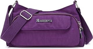 STUOYE Small Crossbody Bags for Women Multi Pocket Purse Bag Travel Shoulder Bag