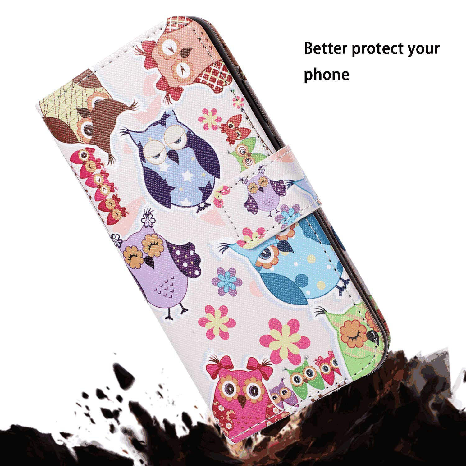 an Crown Wallet Cover for Samsung Galaxy S10 Leather Flip Case Fit for Samsung Galaxy S10