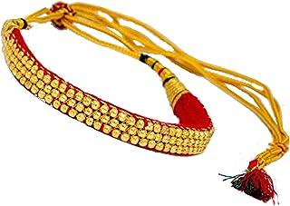Geode Delight Multi-Strand Chokar Rajputi Necklace for Women