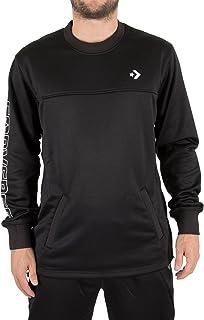 Converse Men's Hybrid Sweatshirt, Black