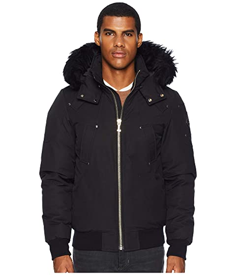 Moose Knuckles Shearling Ballistic Bomber