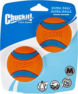 Chuckit Ultra Ball Medium - 2 Pelotas para Perros