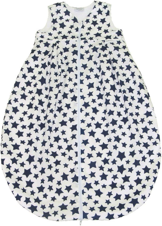 Tavolinchen 35 158-132-110 Frottierschlafsack, Sterne weiß marine, Größe Größe Größe 110 cm B008MSWBCW 2552fc