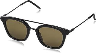 FENDI - FF 0224/S 70 807 Gafas de sol, Negro (Black/Brown), 48 para Hombre