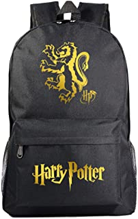 Mochila de los niños de Harry Potter Gryffindor Bolsa de la Escuela Hombres y Mujeres de Ocio Deportes Mochila Bolsa de Cuaderno L Estilo 20