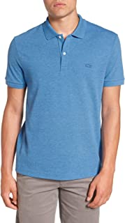 Lacoste Men's Regular Fit Short Sleeve Pique Polo Shirt with Tonal Croc Logo