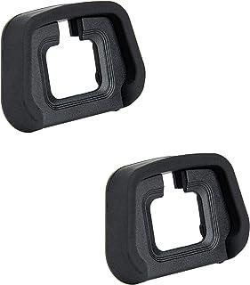 JJC Miękki silikonowy Eyecup Eyepiece do Nikon Z5, Z6, Z6II, Z7, Z7II lustrzana kamera zastępuje Nikon EN-D29 (2 szt. w op...