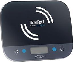 Tefal BC9200S5 Balance de Cuisine Connectée Cooking Connect Application 300 recettes Graduation 10kg/1g Conversion Liquide...
