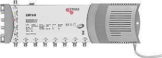 Triax CKR5x8 Multischalter (5 Eingängen, 8 Ausgängen) mit Netzteil