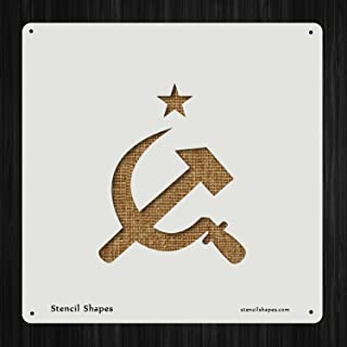 Best hammer and sickle stencil Reviews