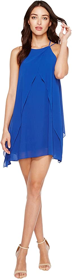 Brigitte Bailey - Cyndel Spaghetti Strap Ruffle Dress