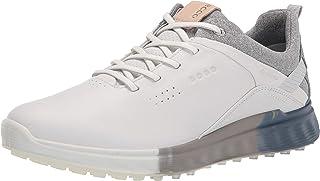 Ecco Athletic Women's S-Three Gore-TEX Golf Shoe, White/Mirage, 3/3.5 UK