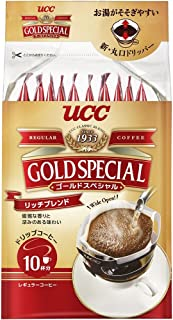 ucc gold special drip coffee