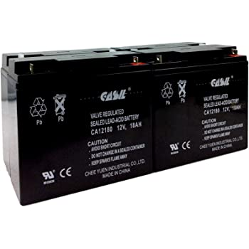 APC Smart-UPS 2200 SUA2200RMI2U 12V 18Ah UPS Battery This is an AJC Brand Replacement