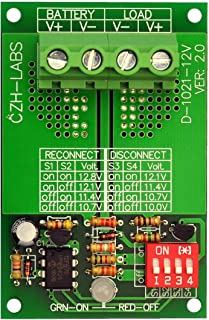CZH-LABS Electronics-Salon Low Voltage Disconnect Module LVD, 12V 30A, Protect/Prolong Battery Life.