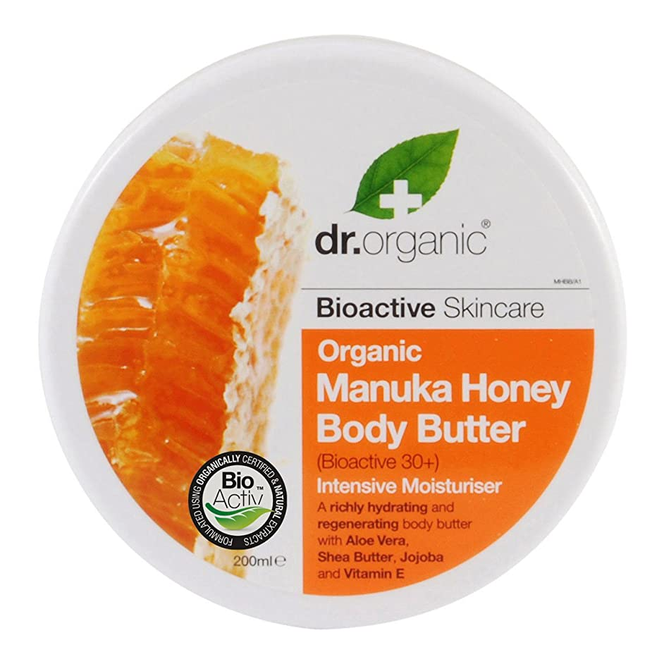 見積りなに破壊的なDr.organic Organic Manuka Honey Body Butter 200ml [並行輸入品]