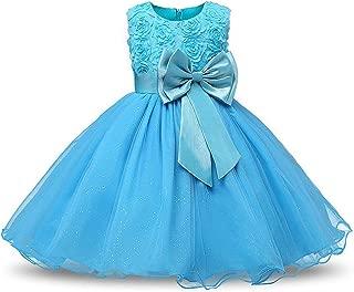 Surprise S Flower Princess Girls Dress Tutu Wedding Birthday Party Kids Children Clothing Teenager Prom