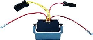 Tuzliufi Replace Voltage Regulator Rectifier Mercury Mariner Outboard 5 wires 25hp 30hp 40hp 25 30 40 hp EFI 830179T1 830179T2 854515T2 883071T1 883072T1 883072T2 893640-002 194-3072K1 194-2115K1 Z59