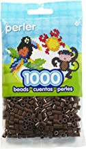 Perler Beads Fuse Beads for Crafts, 1000pcs, Brown