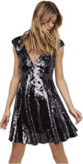 Best free people sequined illusion dress Reviews