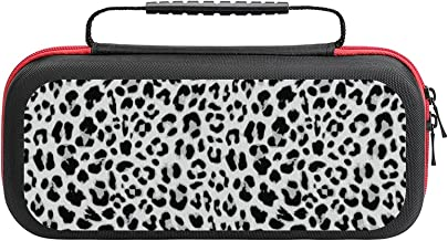 $26 » Leopard Seamless Pattern Design Case Compatible with Switch Case Protective Carry Bag Hard Shell Storage Bag Portable Trav...