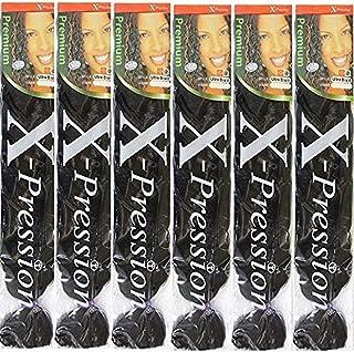 X-presion Ultra Braid 6 pack # 1B