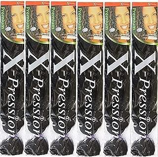 X-pression Ultra Braid 6 pack #1B