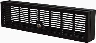 StarTech.com Cubierta de Seguridad de Montaje en Rack 3U - Bisagrado - Bloqueo con Llave - Compatible con Racks de 19